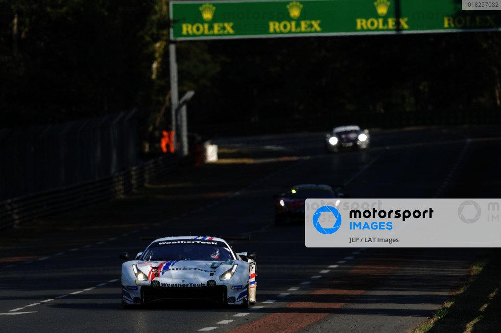 #63 Weathertech Racing Ferrari 488 GTE EVO: Cooper Macneil / Toni Vilander / Jeffrey Segal
