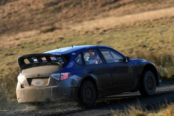 Round 15, Wales Rally GB, 4th-7th December 2008Petter Solberg, Subaru, Action Worldwide Copyright: McKlein/LAT