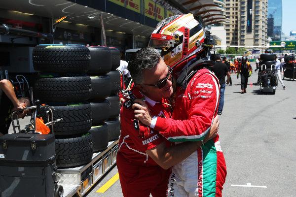 2017 FIA Formula 2 Round 4. Baku City Circuit, Baku, Azerbaijan. Saturday 24 June 2017. Charles Leclerc (MCO, PREMA Racing)  Photo: Charles Coates/FIA Formula 2. ref: Digital Image AX0W9544