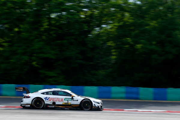 2017 DTM Round 3 Hungaroring, Budapest, Hungary. Friday 16 June 2017. Paul Di Resta, Mercedes-AMG Team HWA, Mercedes-AMG C63 DTM World Copyright: Alexander Trienitz/LAT Images ref: Digital Image 2017-DTM-R3-HUN-AT2-0297