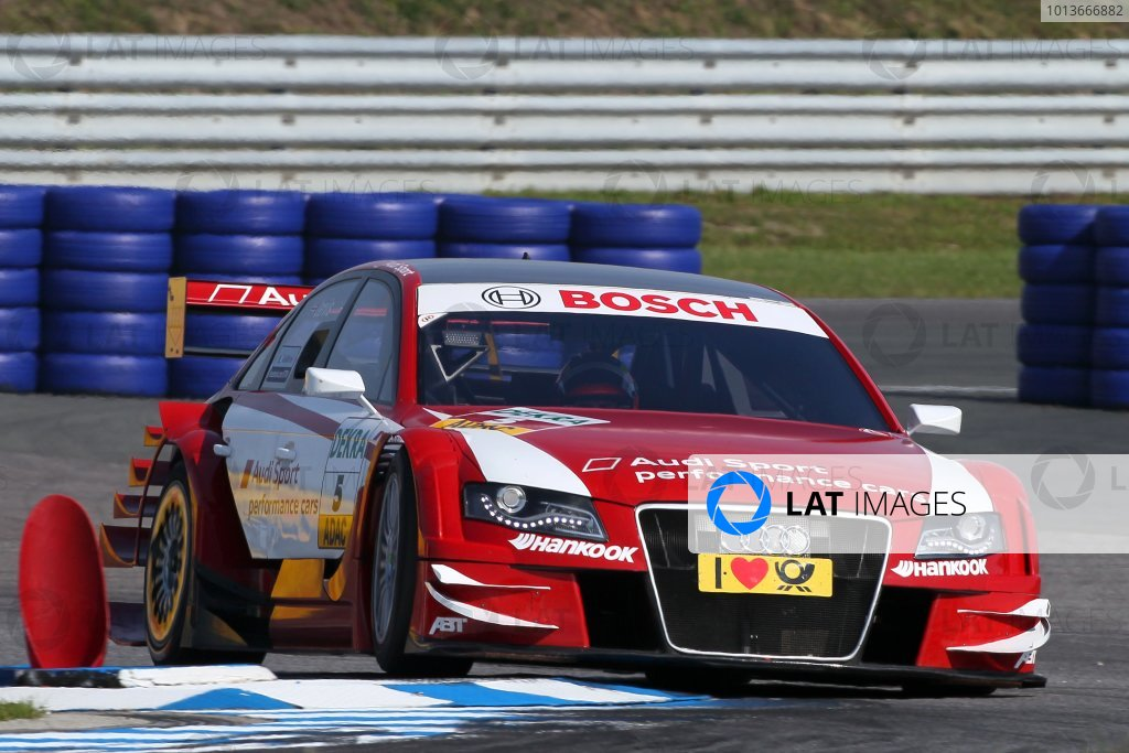 Oliver Jarvis (GBR), Audi Sport Team Abt, Audi Performance A4 DTM (2009).