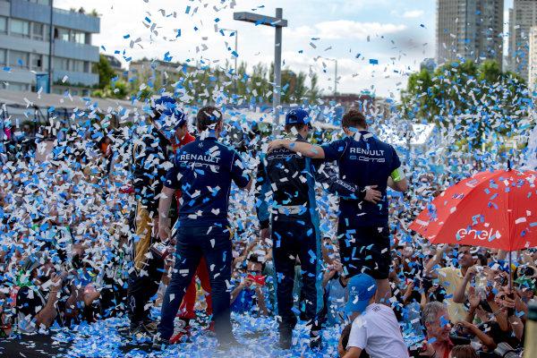 2016/2017 FIA Formula E Championship. Buenos Aires ePrix, Buenos Aires, Argentina. Saturday 18 February 2017. Sebastien Buemi (SUI), Renault e.Dams, Spark-Renault, Renault Z.E 16.  Photo: Zak Mauger/LAT/Formula E ref: Digital Image _X0W5954