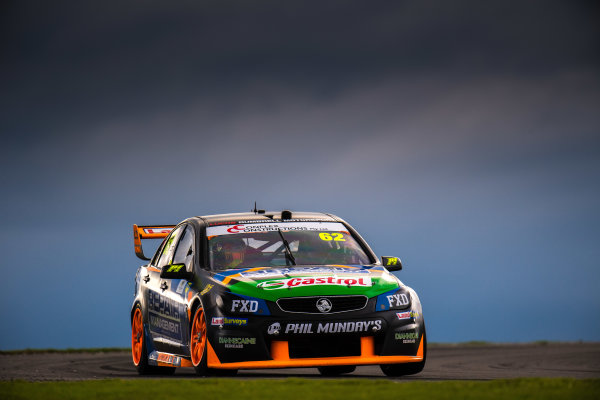 2017 Supercars Championship Round 3.  Phillip Island 500, Phillip Island, Victoria, Australia. Friday 21st April to Sunday 23rd April 2017. Alex Rullo drives the #62 LD Motorsport Holden Commodore VF. World Copyright: Daniel Kalisz/LAT Images Ref: Digital Image 210417_VASCR3_DKIMG_1744.JPG