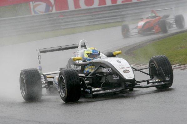 2007 British Formula Three Championship. Spa, Belgium. 26th - 28th July 2007.Sebastian Hohenthal (Fortec Motorsport).Action.World Copyright: Drew Gibson/LAT Photographic.Ref: Digital Image Only.