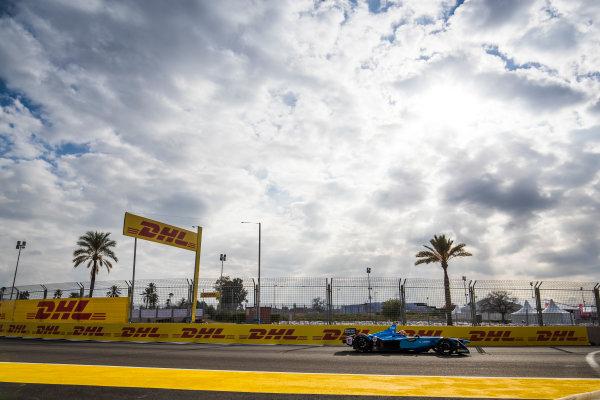 2017/2018 FIA Formula E Championship.Test 02 - Marrakesh Rookie Test.Circuit International Automobile Moulay El Hassan, Marrakesh, Morocco.Sunday 14 January 2018.Mitsunori Takaboshi (JPN), Renault e.Dams, Renault Z.E 17. Photo: Sam Bloxham/LAT/Formula Eref: Digital Image _J6I2263