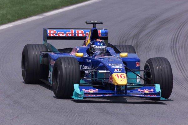2000 Canadian Grand Prix.Montreal, Quebec, Canada.16-18 June 2000.Pedro Diniz (Sauber C19 Petronas).World Copyright - LAT Photographic
