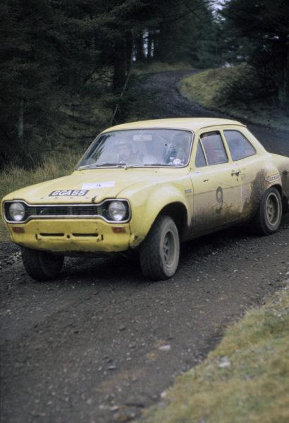 Per Eklund / Bjorn Cederberg, Saab 96 V4.