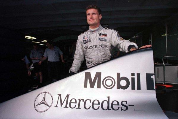 1998 Brazilian Grand Prix.Interlagos, Sao Paulo, Brazil.27-29 March 1998.David Coulthard (McLaren Mercedes-Benz).World Copyright - LAT Photographic