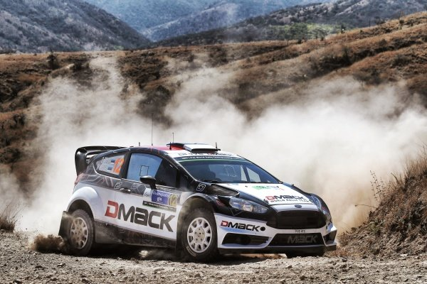 Ott Tanak (EST) / Raigo Molder (EST), Drive DMACK World Rally Team Ford Fiesta RS WRC at World Rally Championship, Rd3, Rally Mexico, Day One, Leon, Mexico, 4 March 2016.