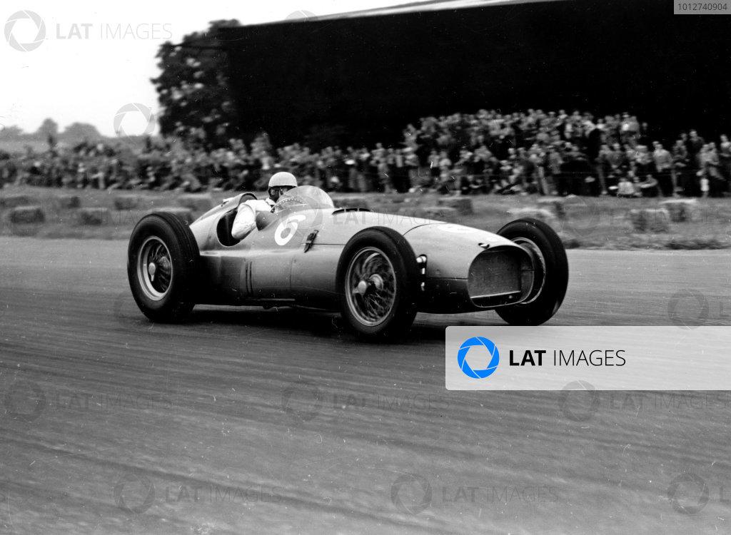1951 British Grand Prix.Silverstone, England.12-14 July 1951.Reg Parnell (BRM P15) 5th position.ref: C29871World Copyright - LAT Photographic
