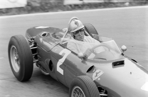 Wolfgang von Trips, Ferrari 156, rounds La Source.