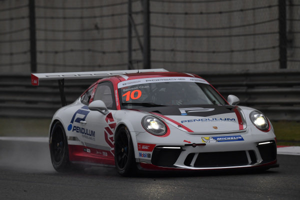 Samsung Chan (HKG) Earl Bamber Motorsport at Porsche Carrera Cup Asia, Shanghai, China, 13-15 April 2018.