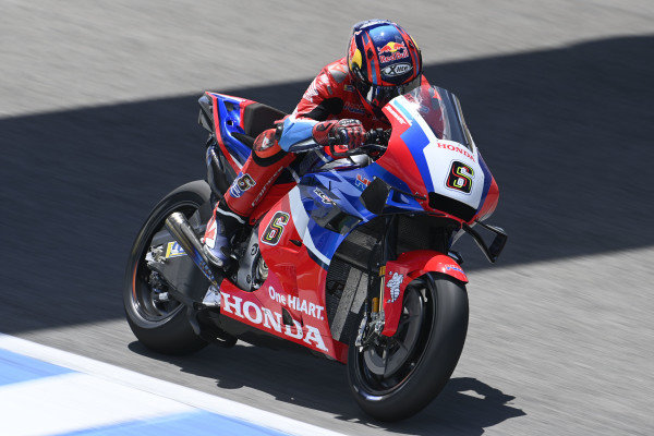 Stefan Bradl, Honda HRC.