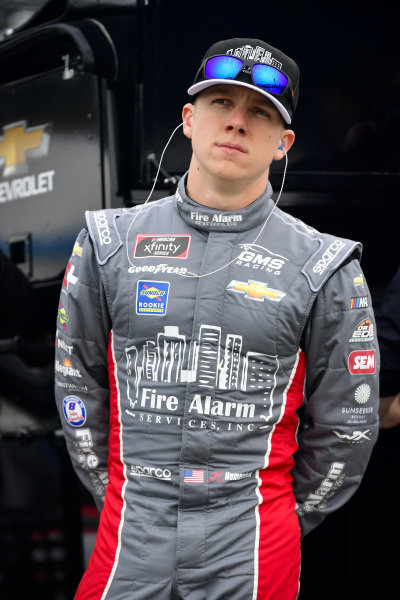 #23: John Hunter Nemechek, GMS Racing, Chevrolet Camaro Fire Alarm Services, INC