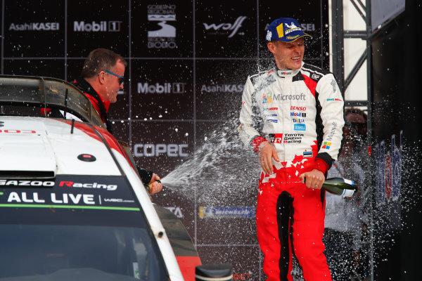 Ott Tänak, Tommi Makinen, Toyota Gazoo Racing, Toyota Yaris WRC 2019