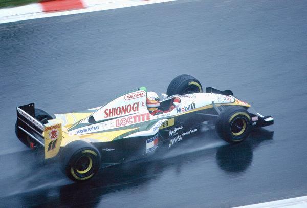 1994 Belgian Grand Prix.Spa-Francorchamps, Belgium. 26-28 August 1994.Philippe Adams (Lotus 109 Mugen Honda).Ref-94 BEL 25.World Copyright - LAT Photographic