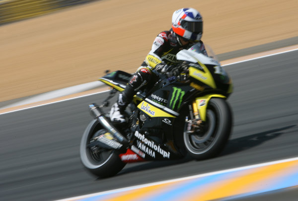 France LeMans. Round 3.  21st - 23rd May 2010 Ben Spies Monster Yamaha Tech 3