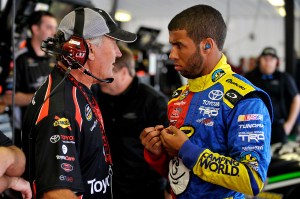 2-3 August, 2013, Long Pond, Pennsylvania USA Darrell Wallace Jr and Jerry Baxter ©2013, Nigel Kinrade LAT Photo USA