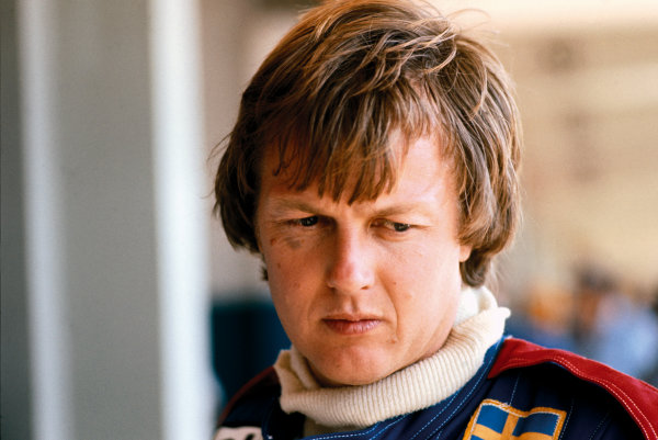 Ronnie Peterson (Tyrrell P34-Ford), portrait.  World Copyright: LAT Photographic. Ref:  77RP001