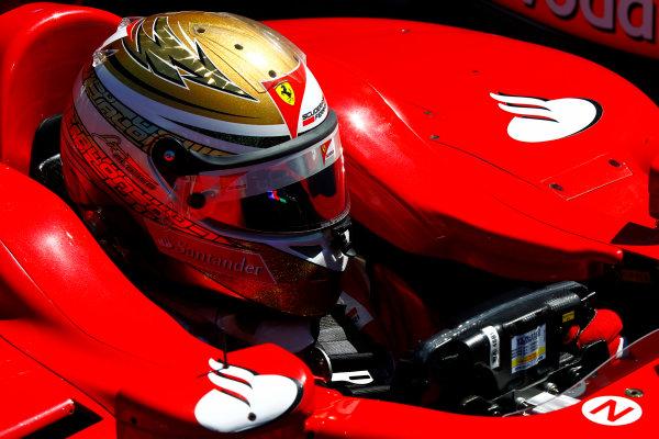 Monte Carlo, Monaco28th May 2011Fernando Alonso, Ferrari 150° Italia. Portrait. Helmets. World Copyright:Charles Coates/LAT Photographicref: Digital Image _X5J6997