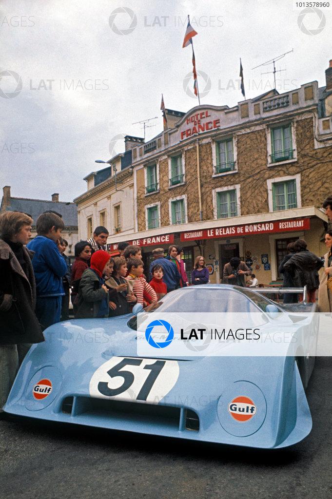 1973 Le Mans 24 hours Test.