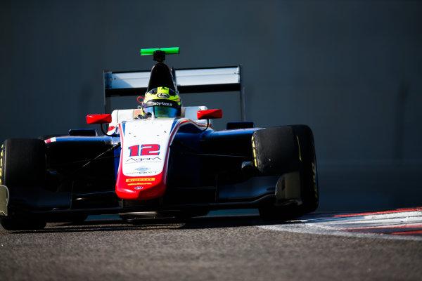 2017 GP3 Series Test 5. Yas Marina Circuit, Abu Dhabi, United Arab Emirates. Thursday 30 November 2017. Alessio Lorandi (ITA, Trident).  Photo: Joe Portlock/GP3 Series Media Service. ref: Digital Image _L5R2386