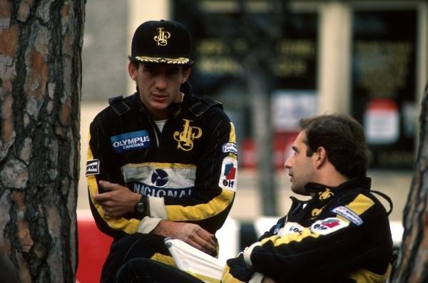 Ayrton Senna (BRA) Lotus 97T, DNF. Monaco Grand Prix, Monte Carlo, 19 May 1985