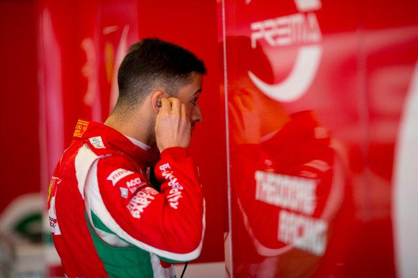 Circuit de Barcelona Catalunya, Barcelona, Spain. Tuesday 14 March 2017. Antonio Fuoco (ITA, PREMA Racing). Photo: Alastair Staley/FIA Formula 2 ref: Digital Image 585A7609