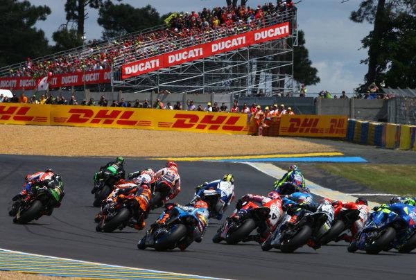 2017 MotoGP Championship - Round 5 Le Mans, France Sunday 21 May 2017 Johann Zarco, Monster Yamaha Tech 3 World Copyright: Gold & Goose Photography/LAT Images ref: Digital Image 672130