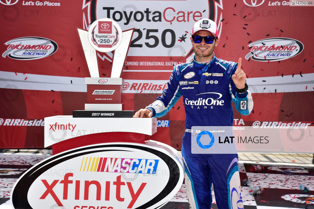 NASCAR Xfinity Series ToyotaCare 250 Richmond International Raceway, Richmond, VA USA Saturday 29 April 2017 Kyle Larson, Credit One Bank Chevrolet Camaro World Copyright: RUSTY JARRETT LAT Images ref: Digital Image 17RIC1rj_3624
