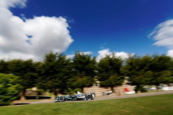 Jaguar Racing Official Formula E Launch Jaguar Heritage Collections Centre, Gaydon, UK Thursday 8 September 2016 Ho-Pin Tung drives the new Jaguar Racing Formula E car. World Copyright: Andrew Ferraro/LAT Photographic ref: Digital Image _14P5068