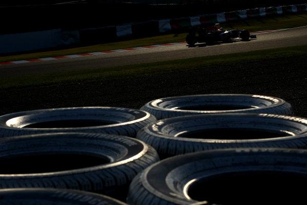 Suzuka Circuit, Suzuka, Japan.7th October 2011.Mark Webber, Red Bull Racing RB7 Renault. Action. World Copyright: Andy Hone/LAT Photographicref: Digital Image CSP24135