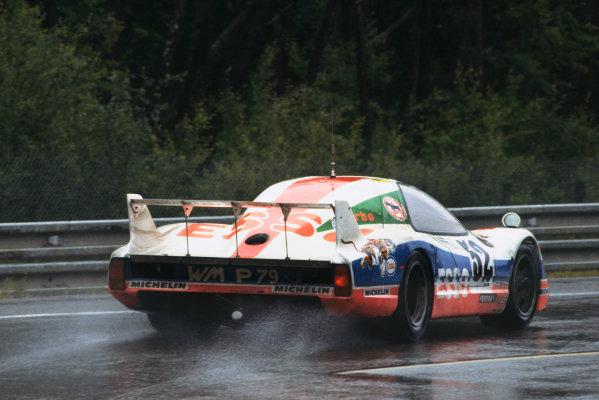 Le Mans, France. 9th - 10th June 1979 Jean-Daniel Raulet/Max Mamers/Serge Saulnier (WM P79 Peugeot), 14th position, action. World Copyright: LAT Photographic Ref: 79LM25.