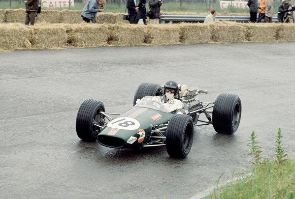 1968 Dutch Grand Prix.Zandvoort, Holland.21-23 June 1968.Dan Gurney (Brabham BT24 Repco).Ref-68 HOL 04.World Copyright - LAT Photographic