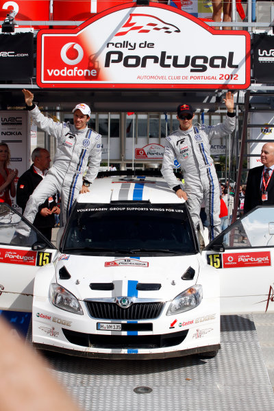 Round 04-Rally Portugal 28/3-1/4 2012. Sebastien Ogier, Skoda S2000, PodiumWorldwide Copyright: McKlein/LAT