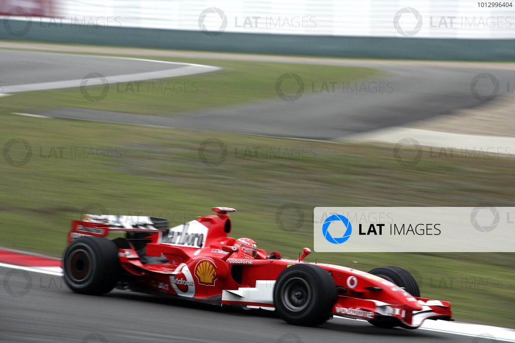 2006 Chinese Grand Prix - Saturday Practice