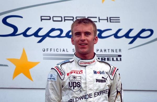 Race winner Timo Bernhard (GER).