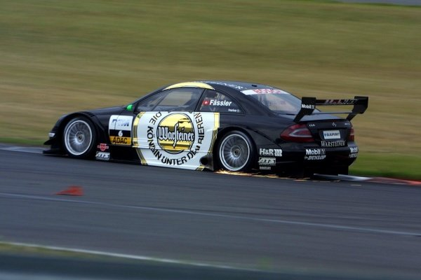 Marcel Fassler (SUI) AMG Mercedes finished third.
