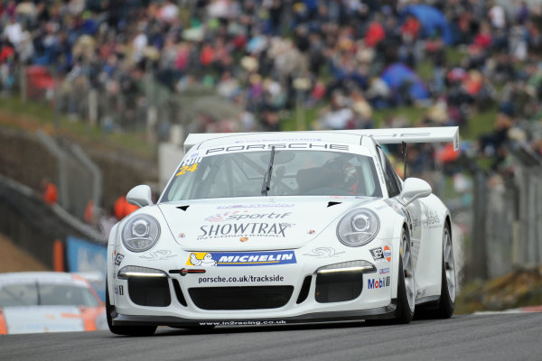 2014 Porsche Carrera Cup Great Britain,Brands Hatch, 29th-30th March 2014, Jake Hill (GBR) In2 PorscheWorld copyright. Jakob Ebrey/LAT Photographic