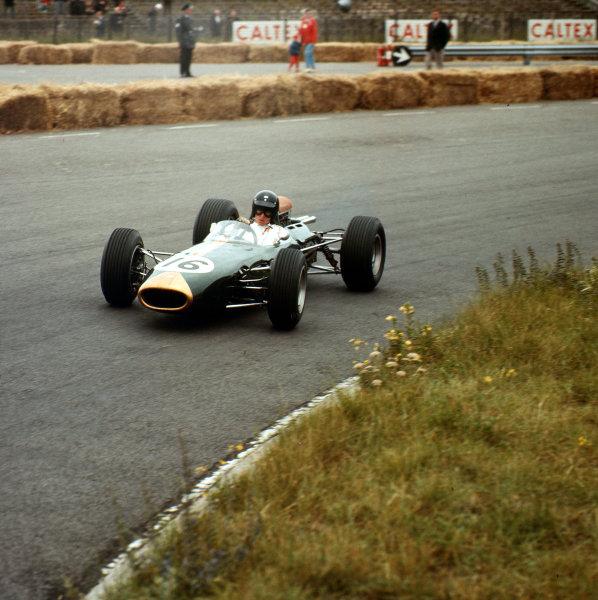 Zandvoort, Holland.16-18 July 1965.Dan Gurney (Brabham BT11 Climax) 3rd position.Ref-3/1785.World Copyright - LAT Photographic