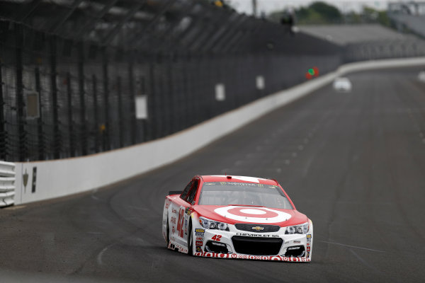 Monster Energy NASCAR Cup Series Brickyard 400 Indianapolis Motor Speedway, Indianapolis, IN USA Saturday 22 July 2017 Kyle Larson, Chip Ganassi Racing, Target Chevrolet SS World Copyright: Michael L. Levitt LAT Images