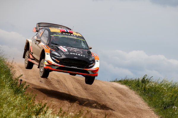 2017 FIA World Rally Championship, Round 08, Rally Poland / June 29 - July 2 2017, Mads Ostberg, Ford, action, Worldwide Copyright: McKlein/LAT
