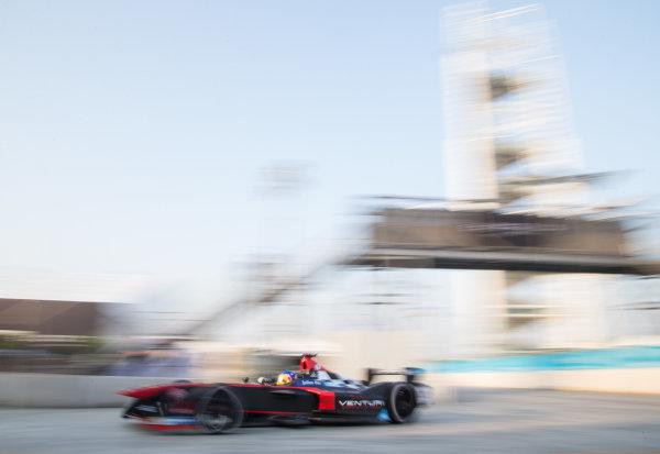 FIA Formula E Championship 2015/16. Beijing ePrix, Beijing, China. Venturi's Jacques Villeneuve   Beijing, China, Asia. Friday 23 October 2015 Photo:  / LAT / FE ref: Digital Image _L1_3407