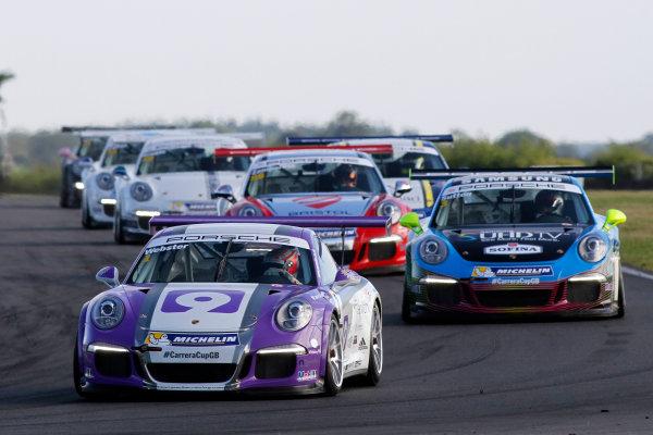 2015 Porsche Carrera Cup, Snetterton, Norfolk. 8th-9th August 2015, Josh Webster (GBR)  World copyright.Jakob Ebrey/LAT Photographic