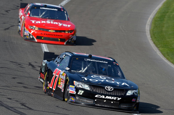 March 22-23, 2013 Fontana, California USA Parker Kligerman and Regan Smith cars © 2013, Brian Czobat LAT Photo USA .