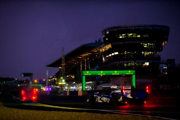 2016 Le Mans 24 Hours. Circuit de la Sarthe, Le Mans, France. Thursday 16 June 2016. KCMG / Oreca 05-Nissan - Tsugio Matsuda (JPN), Matthew Howson (GBR), Richard Bradley (GBR).  World Copyright: Zak Mauger/LAT Photographic ref: Digital Image _L0U5598