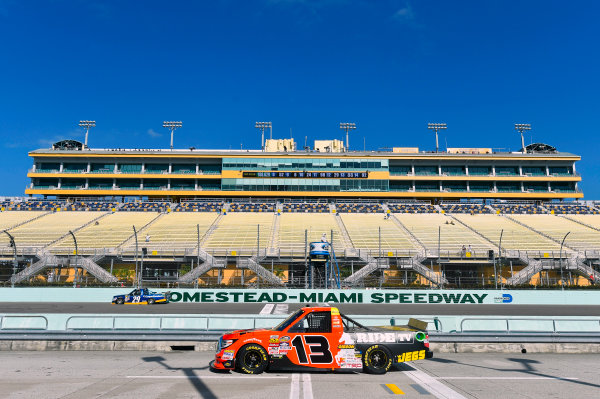 NASCAR Camping World Truck Series Ford EcoBoost 200 Homestead-Miami Speedway, Homestead, FL USA Friday 17 November 2017 Cody Coughlin, Ride TV/ Jegs Toyota Tundra World Copyright: Nigel Kinrade LAT Images