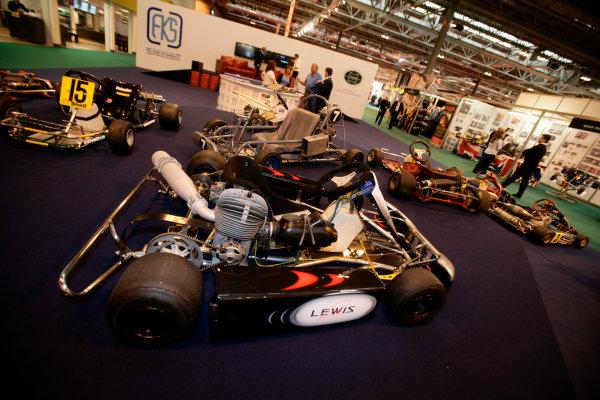 NEC, Birmingham. 13th January 2011.Lewis Hamilton, Kart.World Copyright: Drew Gibson/LAT Photographicref: Digital Image _Y8P0014