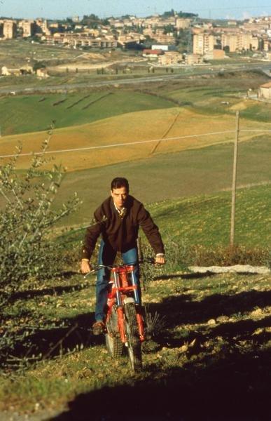 Alesandro Nannani at home in Siena, Italy.Formula One Drivers At Home.