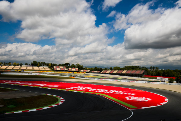 2017 FIA Formula 2 Round 2. Circuit de Catalunya, Barcelona, Spain. Thursday 11 May 2017. A view of the circuit. Photo: Zak Mauger/FIA Formula 2. ref: Digital Image _56I6674